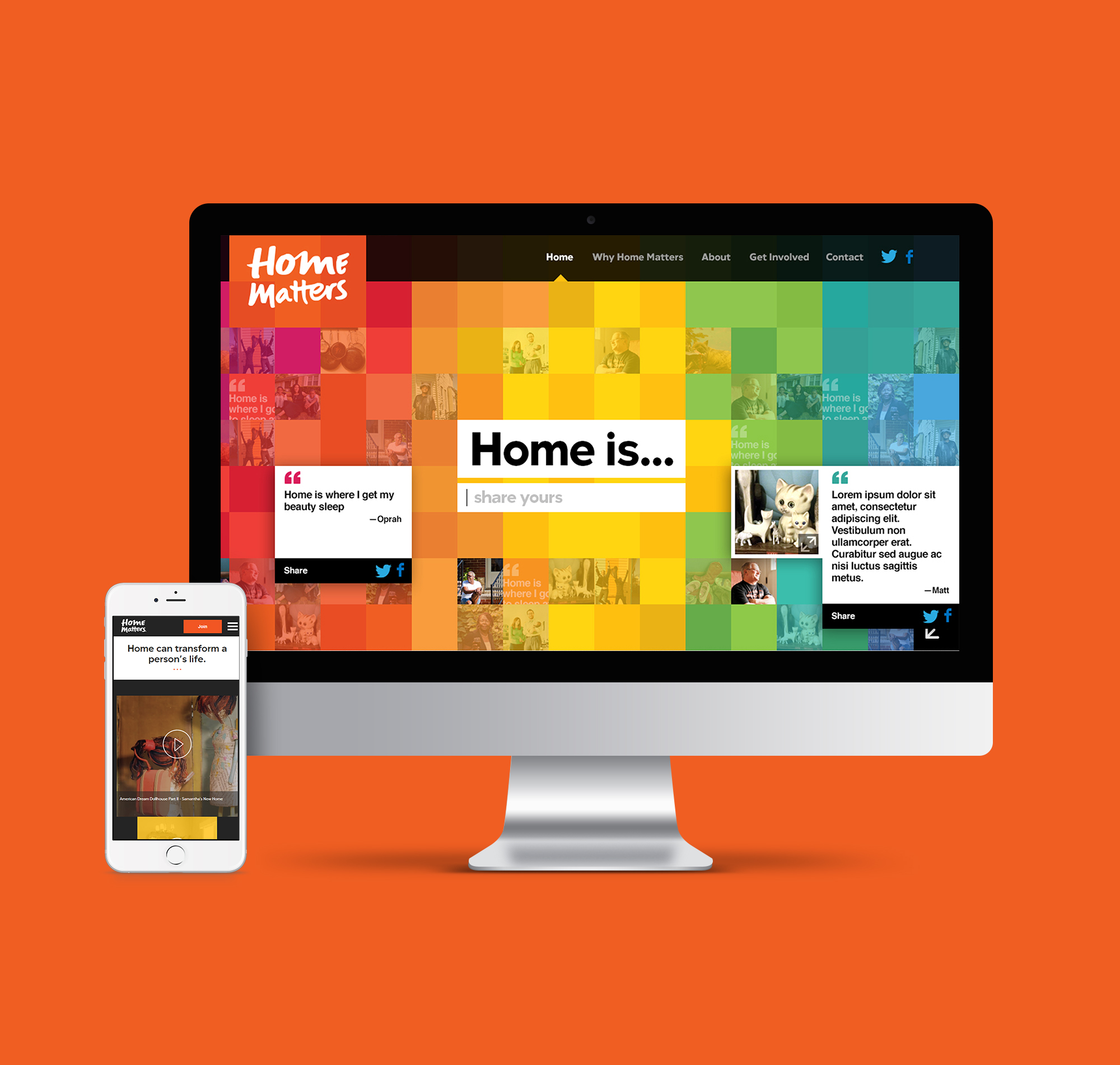 Home Matters website