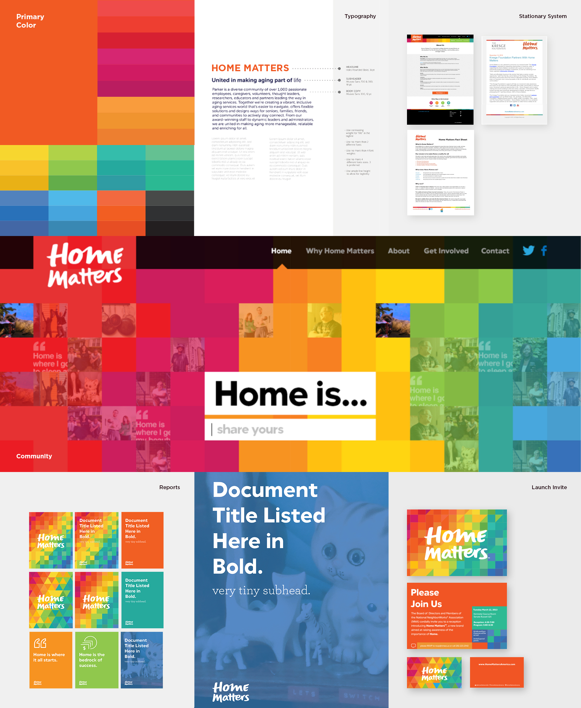 Home Matters brand guidelines