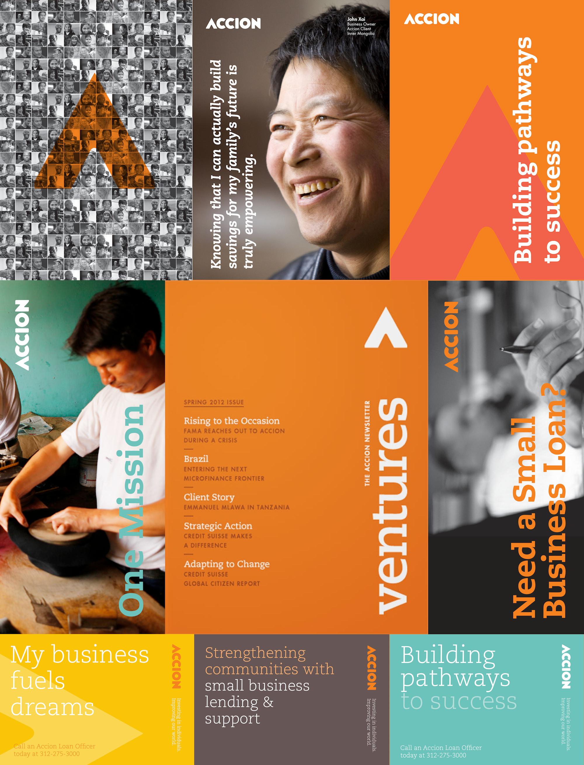 Accion brochures