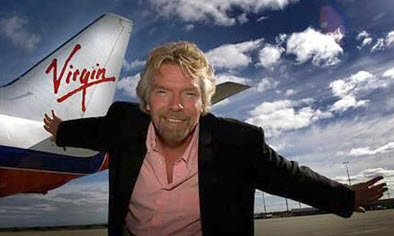 Branson and Virgin 2